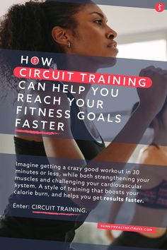 Imagine getting a crazy good workout in 30 minutes or less, while both strengthening your muscles and challenging your cardiovascular system. A workout that can easily be tailored to fit your fitness goals. A style of training that boosts your calorie burn, and helps you get results faster. Sound too good to be true? It's not! Enter: Circuit Training. #sunnyhealthfitness #circuittraining #circuit #circuitworkout #workout
