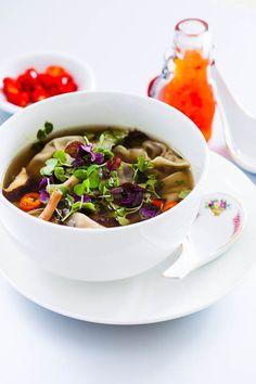 Heerlijke soep met shiitake dumplings   deglazenvork.nl