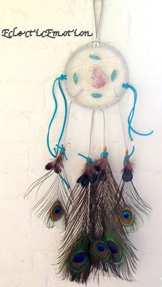 Mystic Blue Dream Catcher by EclecticEmotion on Etsy