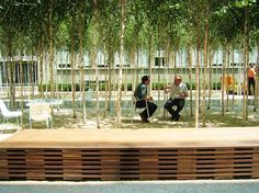 courtyard | Novartis Headquarters, Forum 1 Courtyard | PWP Landscape Architecture