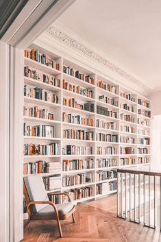 use of upstairs space Home Library Design, Home Interior Design, House Design, Dream Library, 1950s Interior, Home Library Decor, Interior Design Portfolios, Design Desk, Interior Colors