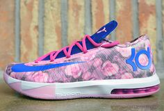 "Nike KD 6 Supreme ""Floral/Aunt Pearl"" - SneakerNews.com"