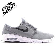 Nike SB Janoski Max L Grigia in Camoscio 685299-011