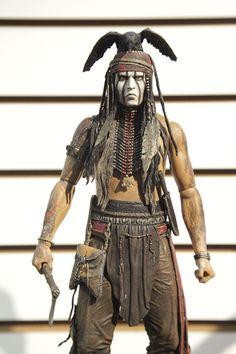 Johnny Depp immortalized by NECA - Toy Fair 2013
