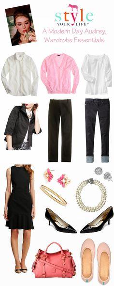 Wardrobe Essentials: Modern Day Audrey Hepburn