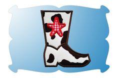 Cowboy Boot Applique}
