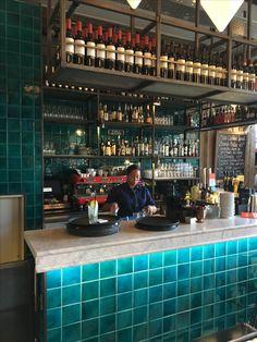 Bar Jamies Italian Rotterdam met san remo espresso machine