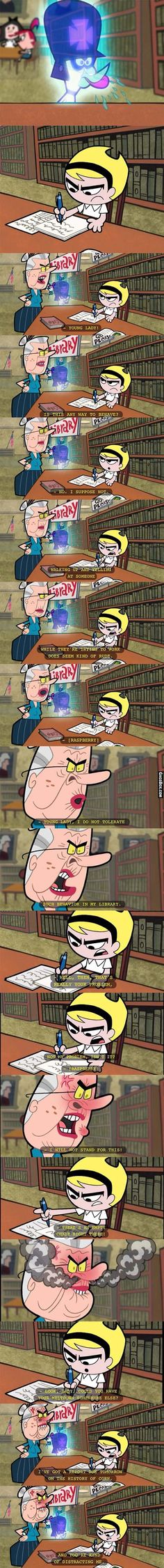 There Are Some People Who You Cannot Win An Argument Against (Grim Adventures Of Billy And Mandy) - I love Mandy