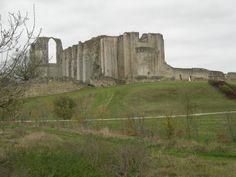 Abbaye du Marais Poitevin, Maillezais. Face nord ouest