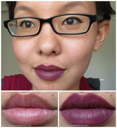 Liquid to Matte Lipcolor by Sephora! A review and swatch of their Cream Lip Stain in Endless Purple. #makeup