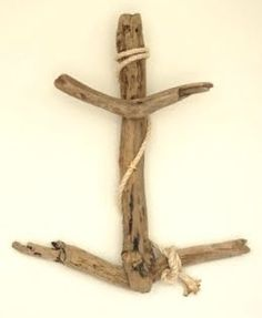 driftwood art anchor