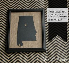 Personalized Gift Giving { with Silhouette }