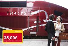 Supervoordelig er-op-uit met Thalys: retour €70 pp OP=OP! Citytrip Parijs incl treinticket+hotel va €104 pp. Vaak 3=2! - Zin in een dagje weg of citytrip naar Parijs? Dat kan snel en voordelig met Thalys! Van 12 november tot en met 20 december reist u voor een gunstig tarief naar Parijs. Geniet van de luxe in Comfort 2 klasse en reis vanuit Amsterdam in nog geen 3u19 naar Parijs.