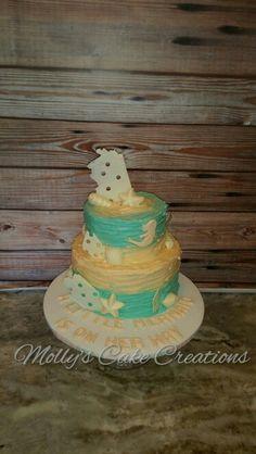 Under The Sea/mermaid Baby Shower Cake