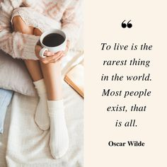 To live is the rarest thing in the world most people exist thats is all Oscar Wilde Centre Oscar Wilde, Usui Reiki, Learned Helplessness, Motivational Quotes, Inspirational Quotes, Teen Quotes, Anxiety Quotes, Ptsd Quotes, Understanding Anxiety