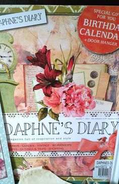 ~ The Feathered Nest ~:  Daphne's Diary magazine available at Barnes & Noble