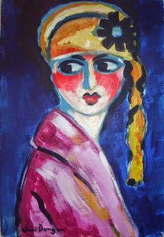 Kees van Dongen - Portrait of Lady in Hat