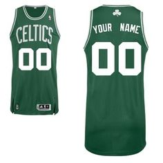 9b66833298e Boston Celtics Road Custom Big And Tall Jersey - Green Sport Fashion