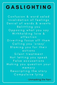 103 Common Narcissist Gaslighting Phrases | Unmasking the Narc Narcissistic Supply, Gaslighting, Accusations, Denial, Let It Be, Feelings, Sayings, Words, Memes