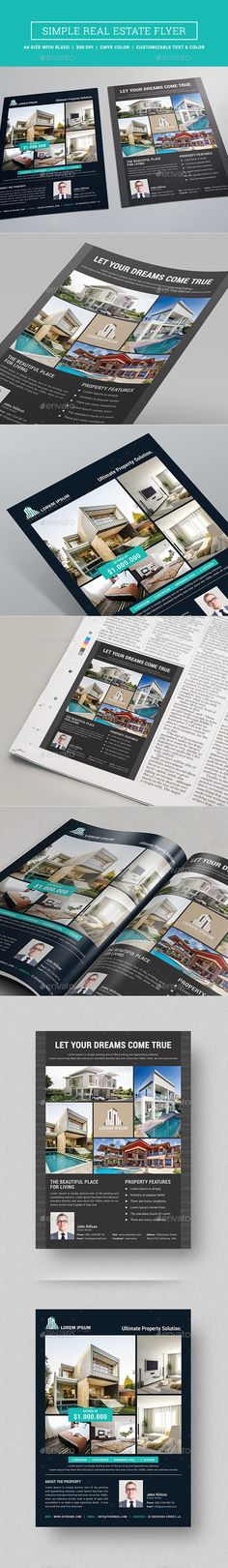 Real Estate Flyer Template PSD. Download here: http://graphicriver.net/item/real-estate-flyer/15934829?ref=ksioks