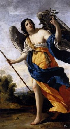 Allegory of virtue. 1634. Simon Vouet. French. 1590-1649.  oil on canvas.