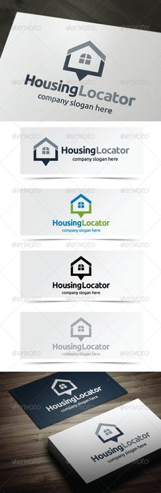 Housing Locator — Vector EPS #remodel #buying • Available here → https://graphicriver.net/item/housing-locator/5355937?ref=pxcr