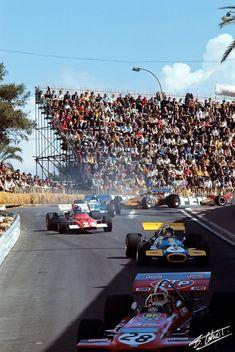 1970 GP Monaco (#28 Chris Amon March 701 -Ford; #5 Jack Brabham Brabham BT33 - Ford; #26 Jacky Ickx Ferrari 312B)