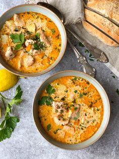 Laxsoppa med asiatiska smaker » Seafood Recipes, Vegetarian Recipes, Healthy Recipes, Food Crush, Easy Meals For Kids, Fish Dishes, Winter Food, Soul Food, Food Inspiration