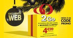 Forfait La Poste Mobile 2Go à moins de 5€/mois grâce à un code promo