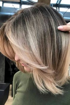 42 Chic Medium Length Layered Hair , Middle Parted Straight Medium Length Layered Hair ❤️ Medium length layered hair styles lo. Medium Length Hair Cuts With Layers, Medium Hair Cuts, Medium Hair Styles, Short Hair Styles, Haircut For Medium Length Hair, Medium Length Hair With Layers Straight, Medium Length Bobs, Easy Hairstyles, Straight Hairstyles