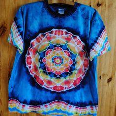 Batikované tričko XL- Amazonský Indián Indiana, Tie Dye, Tops, Women, Tye Dye, Woman