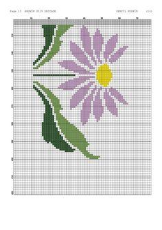Cross Stitching, Towel Bars, Cross Stitch Embroidery, Railings, Bath, Table Toppers, Punto De Cruz, Dots, Flowers