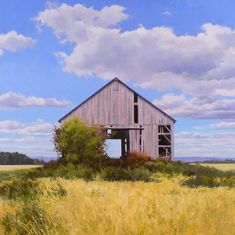 Barn on Line. oil on panel. Barn, Oil, Explore, House Styles, Photos, Sketches, Photography, Painting, Inspiration