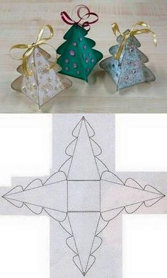 DIY Christmas Tree Box Template diy christmas how to tutorial christmas gifts christmas crafts christmas diy Kids Crafts, Diy And Crafts, Paper Crafts, Foam Crafts, Diy Paper, Easy Crafts, Paper Art, Canvas Crafts, Wooden Crafts