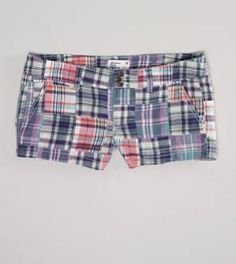 9562a917d0653 plaid shortie shorts from AE..was able to score these on clearance then 20