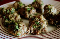 24/7 Low Carb Diner: Thai Meatballs