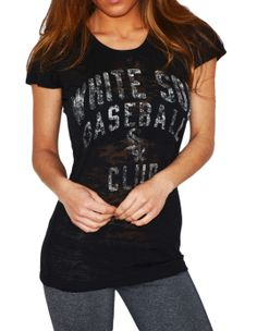 Chicago White Sox burnout tee