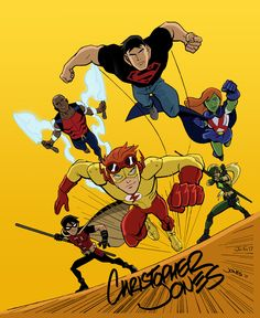 Young Justice - Christopher Jones