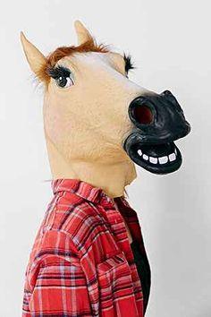 lady horse mask