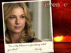 """I'm a big believer in finishing what you start."" looovveee this show! Revenge Abc, Revenge Tv Show, Revenge Quotes, Sweet Revenge, Me Quotes, Best Tv Shows, Best Shows Ever, Favorite Tv Shows, Movies And Tv Shows"