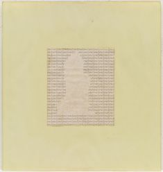 Carl Andre, Untitled, typewriting on paper, 11 x 8 ½ inches x cm). The Museum of Modern Art, New York. Line Diagram, Word Drawings, Geometry Pattern, Collage Art Mixed Media, Dutch Artists, Museum Of Modern Art, Single Image, Sculpture Art, Contemporary Art