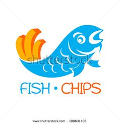 Famous british fast-food - fish and chips - stock vector English Fish And Chips, Fish And Chip Shop, Fish Stock, Food Trailer, Dutch Recipes, Logo Concept, Shop Logo, Illustrations, Recipes