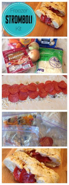 Love freezer cooking? Then try this freezer stromboli kit. I love how easy this freezer stromboli kit is to make. Make 4 in one night and have a dinner your family will love.