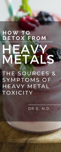 How to Detox from Heavy Metals: The Sources & Symptoms of Heavy Metal Toxicity Best Heavy Metal, Heavy Metal Detox, Healthy Life, Healthy Living, Dental Fillings, Fitness Facts, Detoxify Your Body, Detox Program, Root Canal