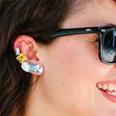 Make your own trendy ear cuff.