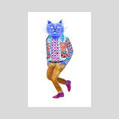 Blue Cat Man by Lisa Hanawalt