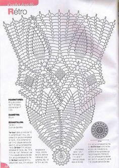 Mandala Au Crochet, Art Au Crochet, Crochet Doily Diagram, Crochet Doily Patterns, Crochet Home, Thread Crochet, Filet Crochet, Crochet Stitches, Crochet Square Blanket