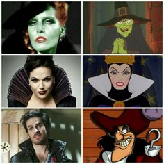 Once Upon a Time the only show to make the ugliest Disney characters into well just sexy