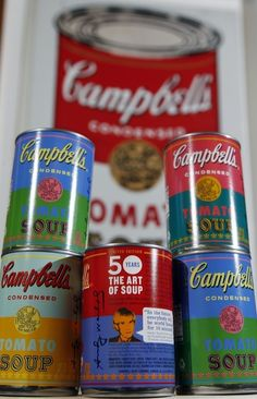 Campbell's Is Finally Selling Andy Warhol SoupCans.    Shut up and take my money!!!