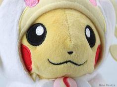 Pelúcia Pikachu Cosplay Audino Classic - Pokémon #Pokémon #Audino #Anime #NekoSeville